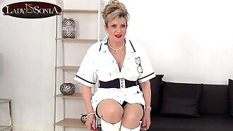 Nurse Lady Sonia is all hot and bothered