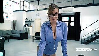 Busty Secretary Josephine Jackson Always Satisfies Her Boss - itsPOV