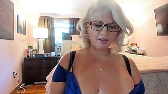 Curvy MILF Rosie: Trying On Sexy Heels and Dancing w/ Glasses On