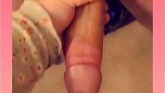Daddys huge cock