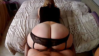 End party with my step sister and her big ass filmed in pov!